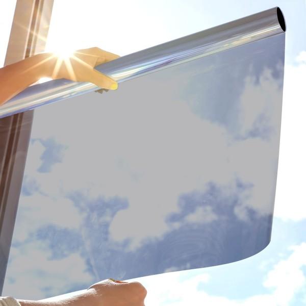 Sonnenschutzfolie SOL-20XP Premium- silber dunkel
